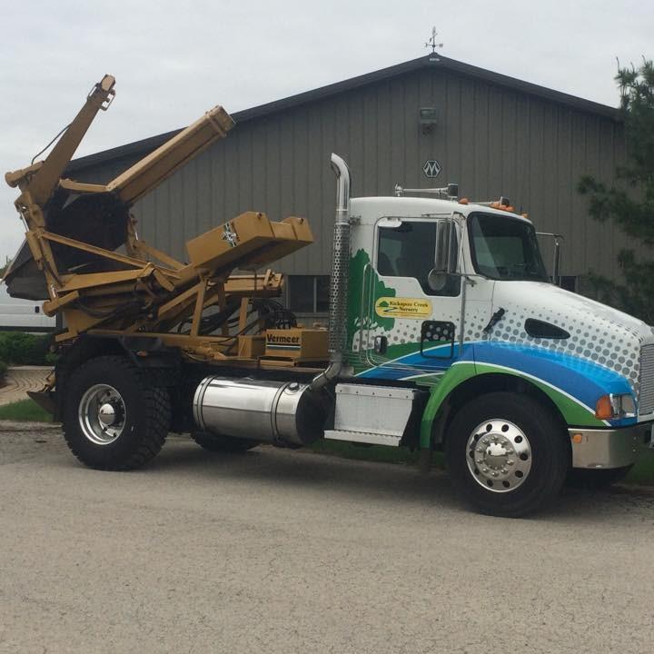 Kickapoo Creek Nursery - truck